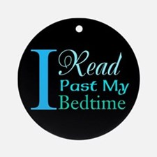 Rebel Reader Ornament (Round)