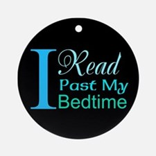Rebel Reader Ornament (Round)
