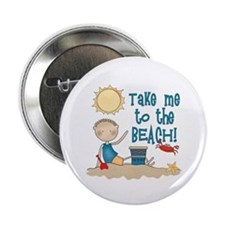 To the Beach (Boy) Button