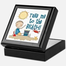 To the Beach (Boy) Keepsake Box