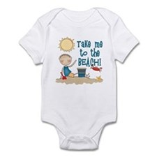 To the Beach (Boy) Infant Bodysuit