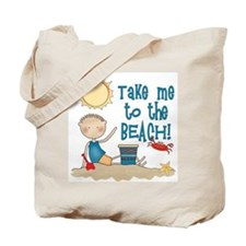 To the Beach (Boy) Tote Bag