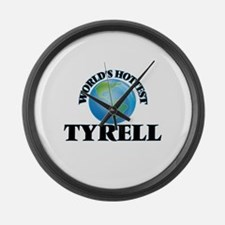 World's Hottest Tyrell Large Wall Clock