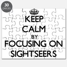 Keep Calm by focusing on Sightseers Puzzle