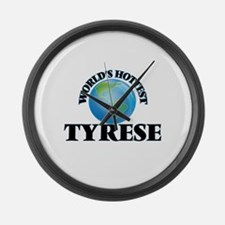 World's Hottest Tyrese Large Wall Clock