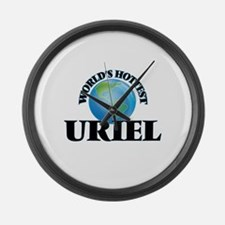 World's Hottest Uriel Large Wall Clock