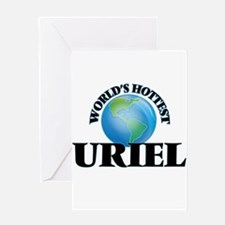 World's Hottest Uriel Greeting Cards