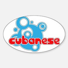 Cubanese Oval Decal