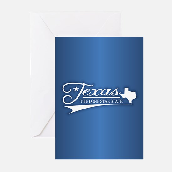 Texas State of Mine Greeting Cards