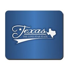 Texas State of Mine Mousepad