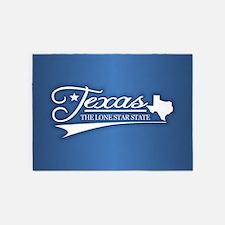 Texas State of Mine 5'x7'Area Rug