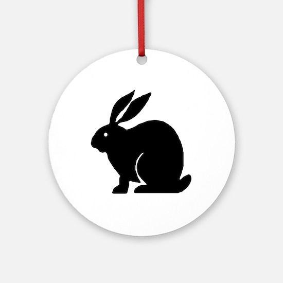 Bunny Rabbit Ornament (Round)