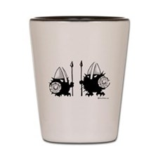 Viking Hedgehogs! Shot Glass