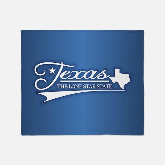 Texas State of Mine Throw Blanket