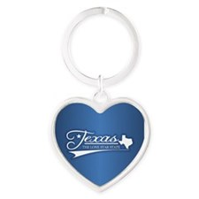 Texas State of Mine Keychains