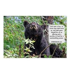Mama Black Bear - Ephesians 5:2 Postcards (Package