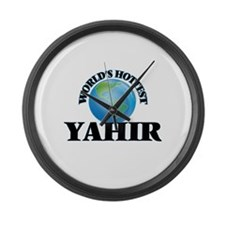 World's Hottest Yahir Large Wall Clock