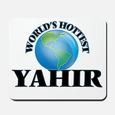 World's Hottest Yahir Mousepad