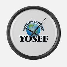 World's Hottest Yosef Large Wall Clock