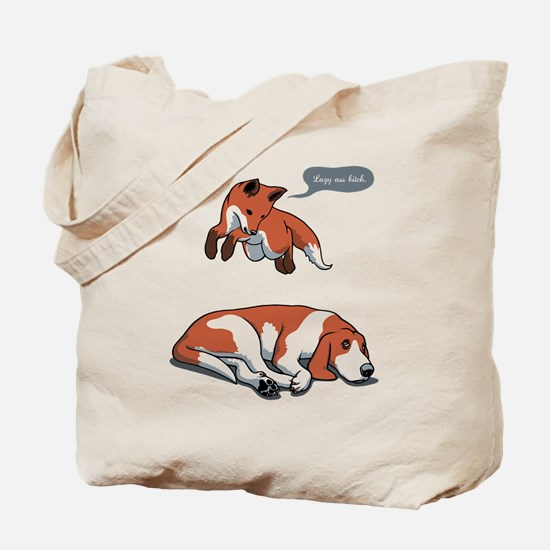 Quick Fox, Lazy Dog Tote Bag