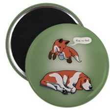 Quick Fox, Lazy Dog Magnet