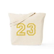 GOLD #23 Tote Bag