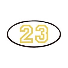 GOLD #23 Patches