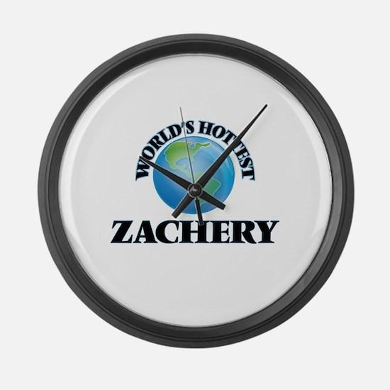 World's Hottest Zachery Large Wall Clock