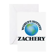 World's Hottest Zachery Greeting Cards