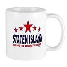 Staten Island Escape The Concrete Jungl Mug