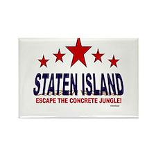 Staten Island Escape The Concrete Rectangle Magnet