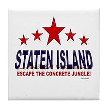 Staten Island Escape The Concrete Jun Tile Coaster