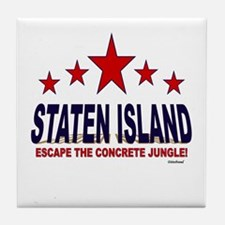 Staten Island Escape The Concrete Jun Tile Coaster