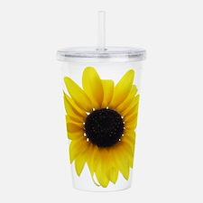 Sunflower Acrylic Double-wall Tumbler