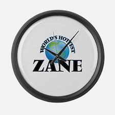 World's Hottest Zane Large Wall Clock