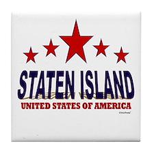 Staten Island U.S.A. Tile Coaster