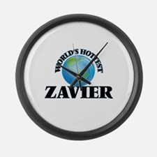 World's Hottest Zavier Large Wall Clock