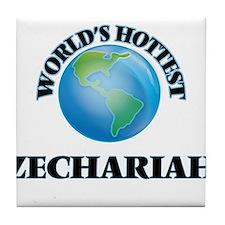 World's Hottest Zechariah Tile Coaster
