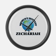 World's Hottest Zechariah Large Wall Clock