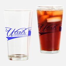 Utah State of Mine Drinking Glass
