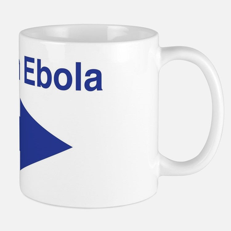 I'm with Ebola Mug