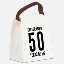 Celebrating 50 Years of Me Canvas Lunch Bag
