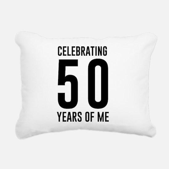 Celebrating 50 Years of Me Rectangular Canvas Pill