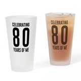 80 birthday Pint Glasses