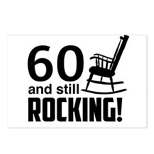 60 and Still Rocking! Postcards (Package of 8)