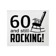 60 and Still Rocking! Throw Blanket