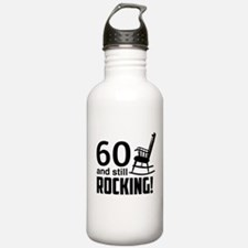 60 and Still Rocking! Water Bottle
