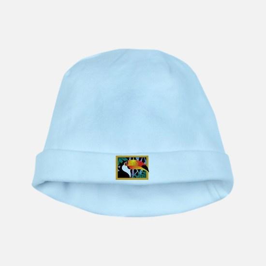 Toucan Tango baby hat