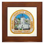 Kalawao County Sheriff Framed Tile