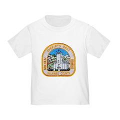 Kalawao County Sheriff Toddler T-Shirt